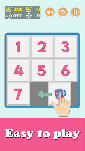 NumPuzzle: Sliding 15 Puzzle. Game of fifteen. screenshot 3