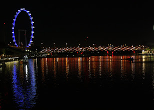 Photo: Year 2 Day 135 -  The Singapore Flyer and Helix Bridge