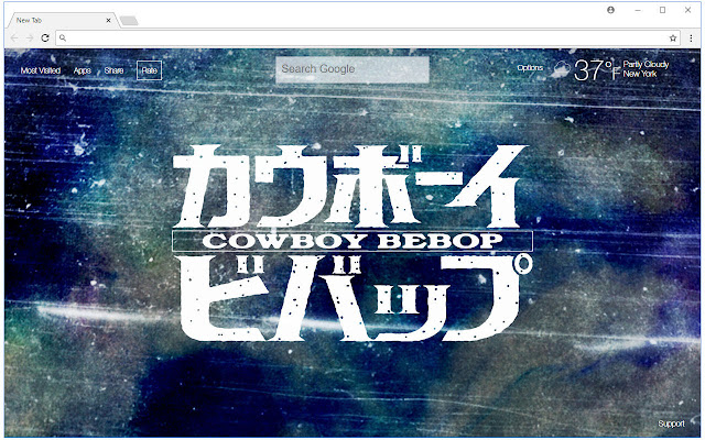 Cowboy Bebop HD Wallpaper Anime New Tab