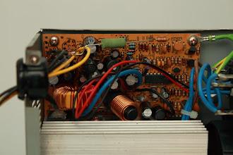 Photo: Detalhe do resistor no sinal PS