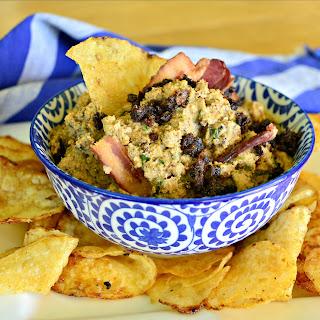 Bacon Jam, Horseradish and Ricotta Cheese Dip.