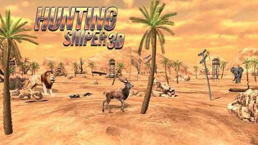 Hunting Sniper 3D  captures d'écran 1