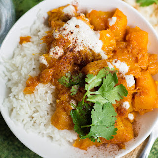 Spiced Afghan Pumpkin Stew