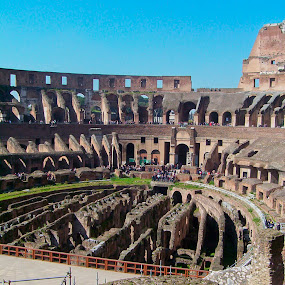 The Colosseum of Rome by Valerie Aebischer - Buildings & Architecture Public & Historical ( landmark, colosseum, rome, rome italy, travel, italy )