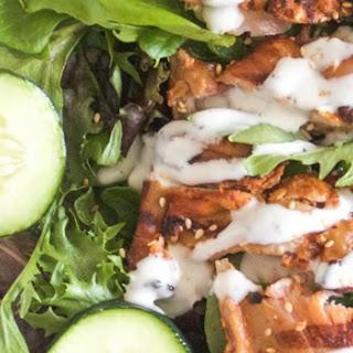 Tzatziki Cucumber and Chicken Salad