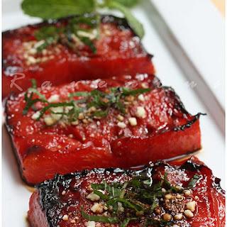 Watermelon Steak or Seared Ahi Tuna??.