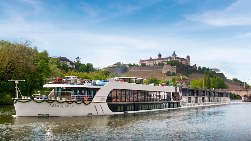 AmaVenita offers sailings on the Rhine, Main and Danube, visiting cultural and historical hotspots such as Cologne, Wurzburg and Vienna.