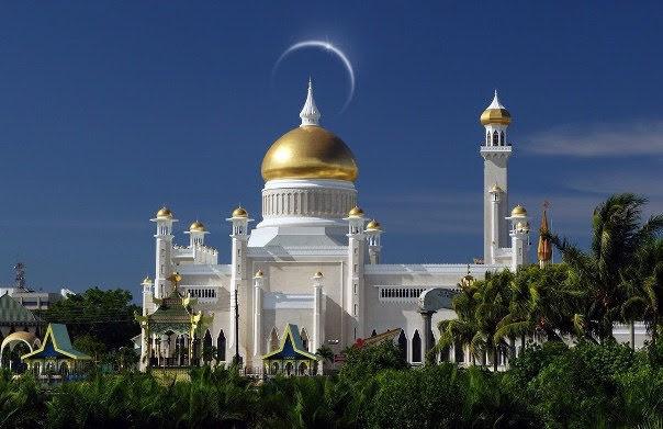Bandar Seri Begawan - Omar-Ali-Saifuddien-Mosque