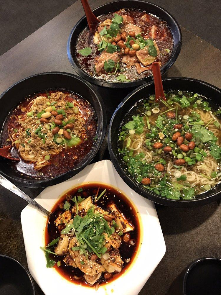 Photo of ChongQing Xiao Mian - Fremont, CA, United States. tan tan noodle and spicy beef noodle are so good!