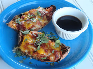 Savory Sweet Potato Skins Recipe