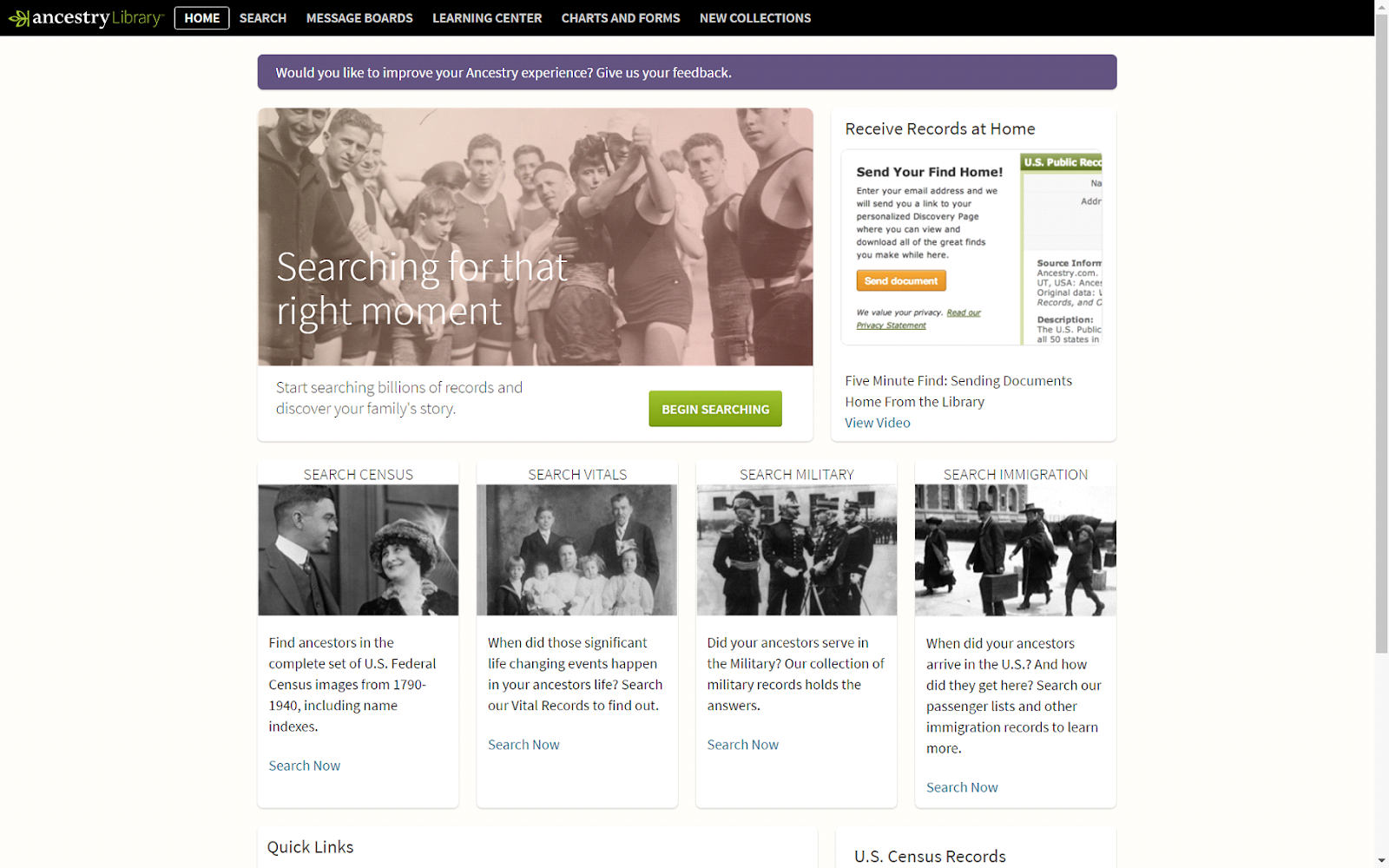Search billions of records on ancestry com - With More Than 200 Billion Images And Records From Over 9 000 Databases Searching Can Be Very Complex But It Doesn T Have To Be