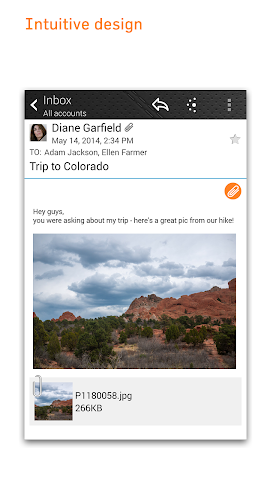 android Fluent Mail Screenshot 0
