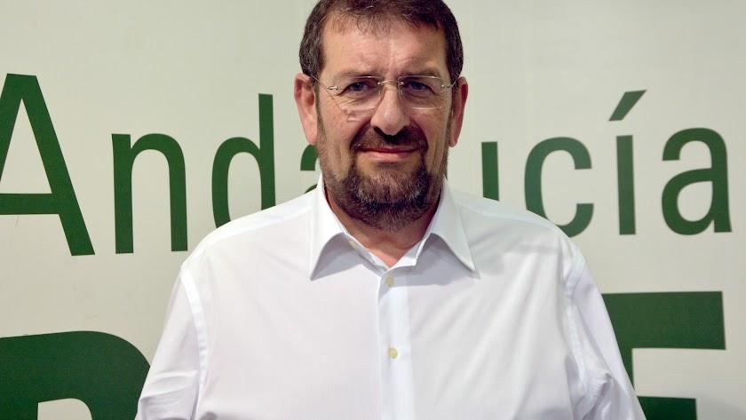 El portavoz del PSOE veratense, Martín Gerez.