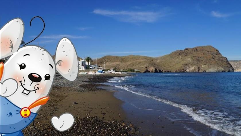 'Ruta del Ratón Pérez',  senderismo para familias con peques en Cabo de Gata