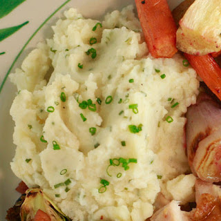Jacques Pépin's Garlic Mashed Potatoes