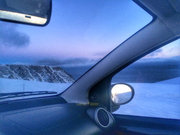 Photo: The convoy to the Nordkapp