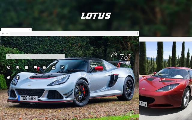 Lotus - Sports Cars HD Theme Wallpapers