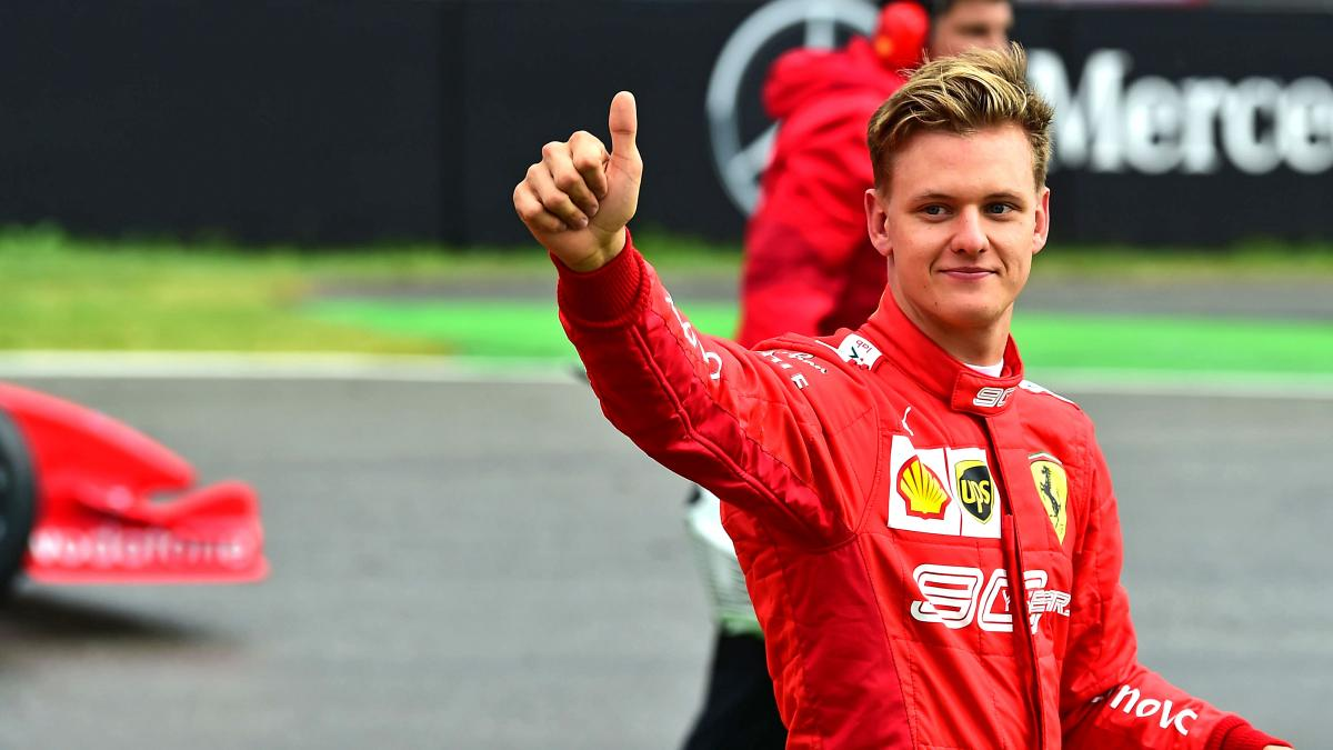 Mick Schumacher to debut at the wheel of a Formula 1 at the Eifel GP - TV6  News
