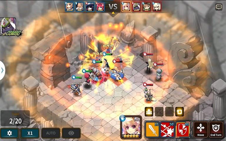 android Fantasy War Tactics Screenshot 17