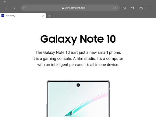 Samsung Internet Browser Beta screenshots 10