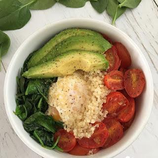 Gluten Free Protein Breakfast Bowl.
