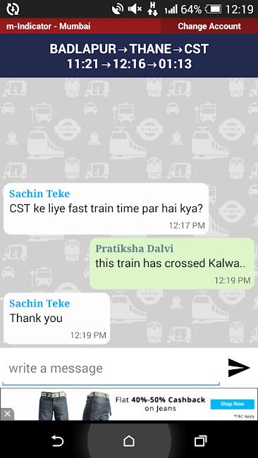 #5. Mumbai Local Train Timetable (Android)
