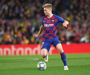 Frenkie de Jong exclu, le Barça piétine