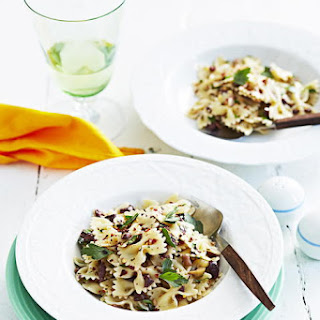 Olive and Herb Pasta.