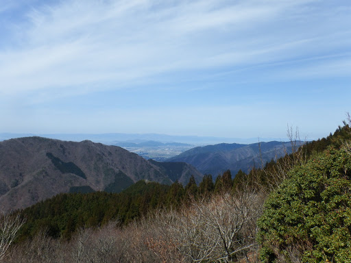 琵琶湖方面