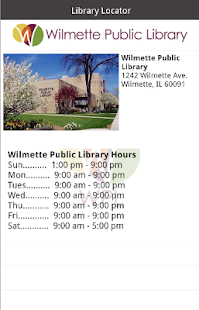 Wilmette Public Library- screenshot thumbnail