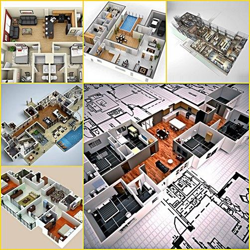 Home floor plans 3d android apps on google play for Play plan