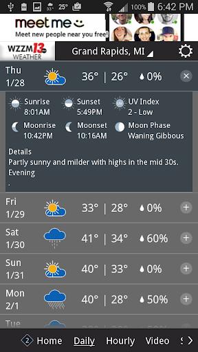 玩免費天氣APP|下載WZZM 13 Weather app不用錢|硬是要APP