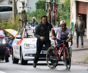"""Dan toch zwaar vloeken voor Victor Campenaerts: """"Dat is de harde wet van de topsport"""""""