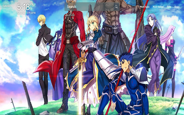 Fate Stay Night Wallpapers Theme