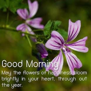 Dobré ráno květina - náhled