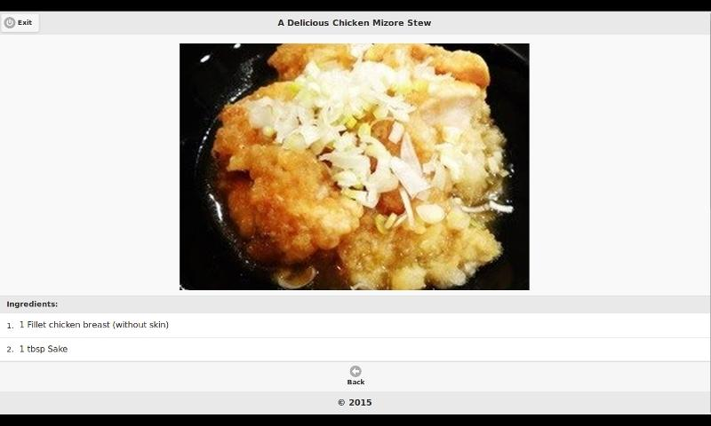 android Chicken Recipes 8 Screenshot 7