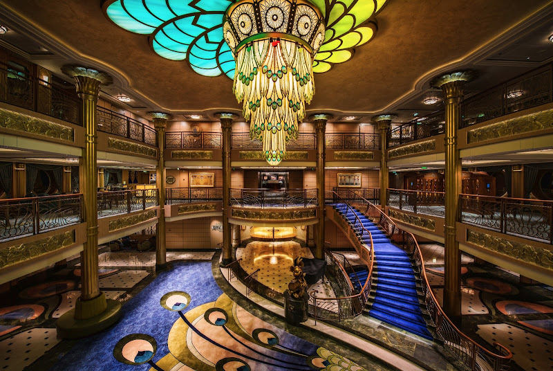 Photo: Going on another Disney Cruise!  We liked the last one so much that we booked another cruise. This time, we are going to try the Alaska cruise, which should be pretty awesome. I was surprised how much I enjoyed the cruise, since I'm not really a cruise-kinda-guy, but the Disney ones are very nice!  This is the lobby of the Disney Fantasy... this is not an HDR image... all Lightroom!