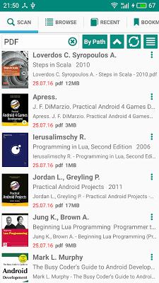 PRO Lirbi Reader: PDF, eBooks - screenshot