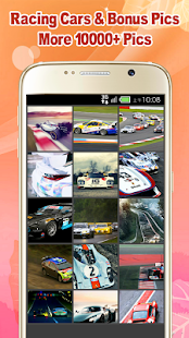 Racing Cars Wallpaper - náhled