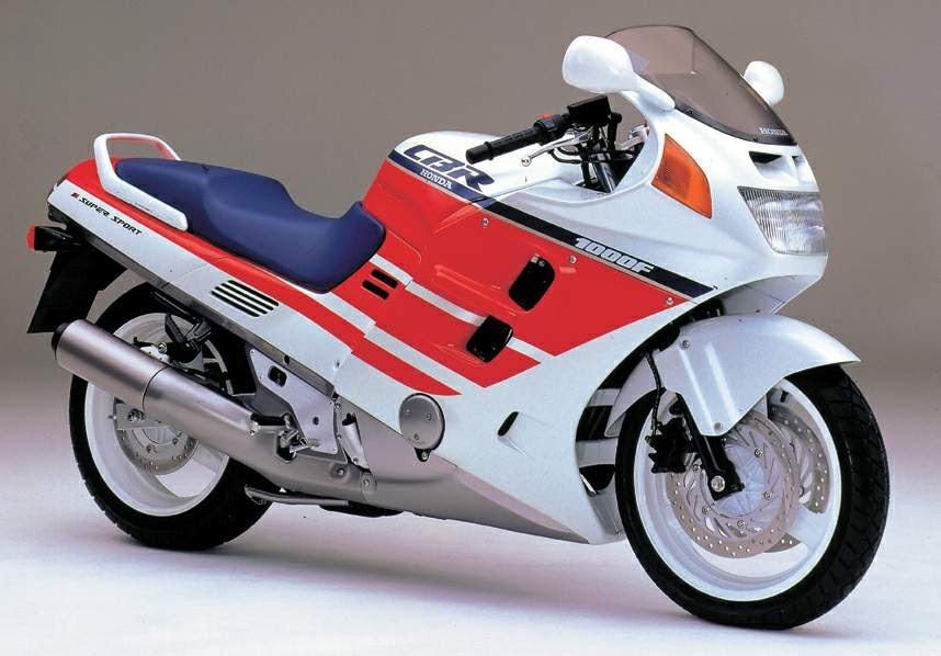 Honda CBR 1000 F -manual-taller-mecanica-despiece