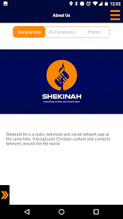 Shekinah App- screenshot thumbnail