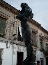 Photo: pomnik słynnej Loli Flores w Jerez