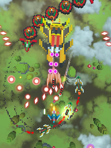 Sky Wings: Pixel Fighter 3D modavailable screenshots 7