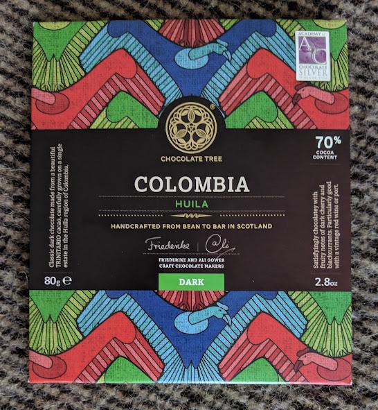 70% Columbia Huila Bar