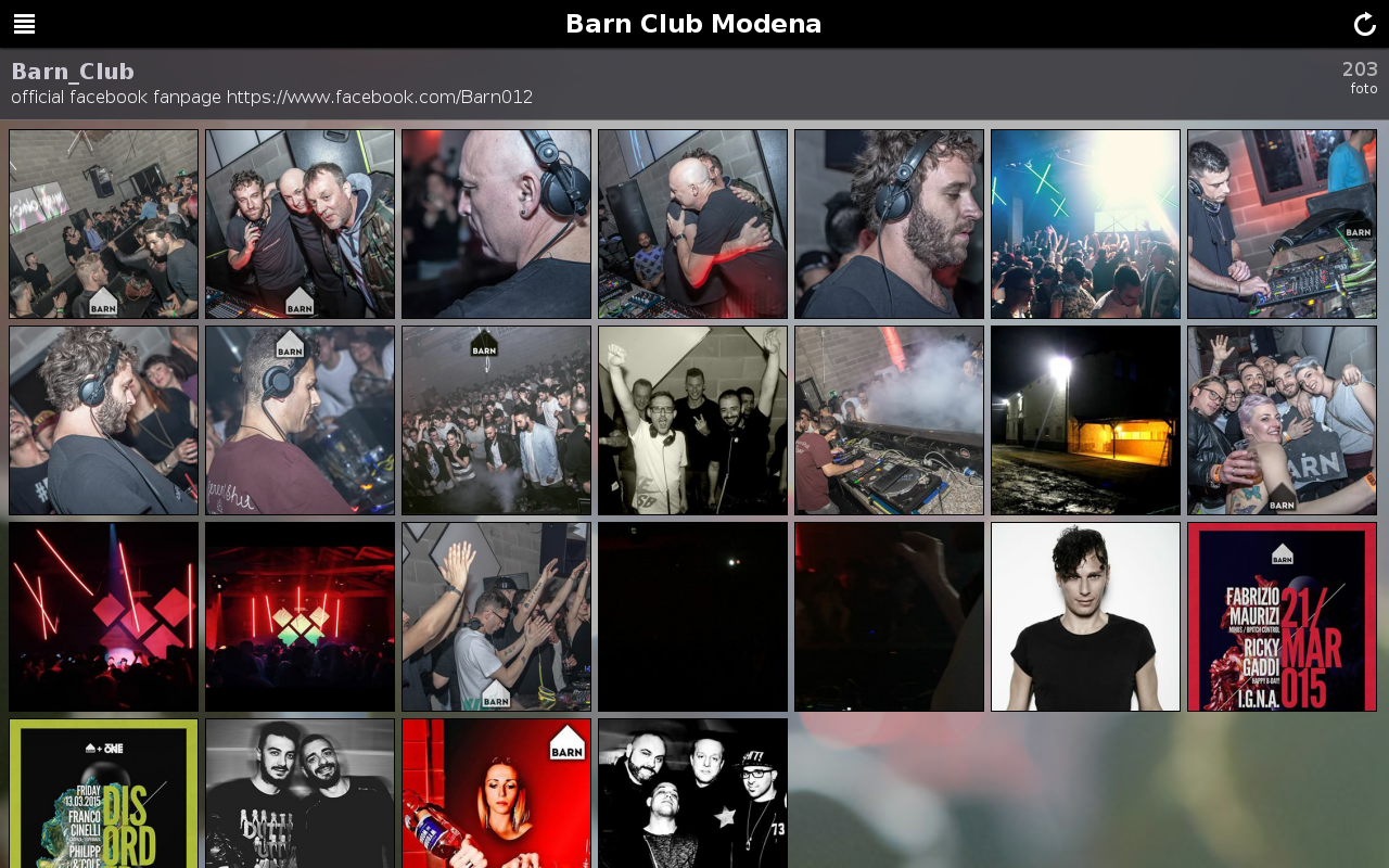 Barn Club Modena- screenshot