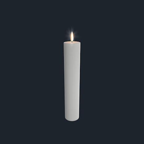UYUNI Pelarljus LED - Vit - 4,8 x 25 CM