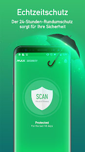 MAX Security - Virenschutz and Cleaner Screenshot