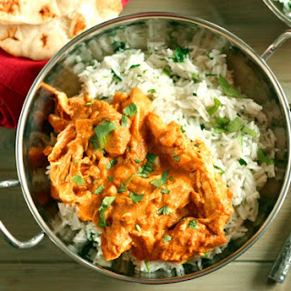 Chicken Tikka Masala with Lemongrass Rice