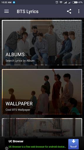 Download BTS Lyrics (Offline) APK | APKTOEL WEBSITE