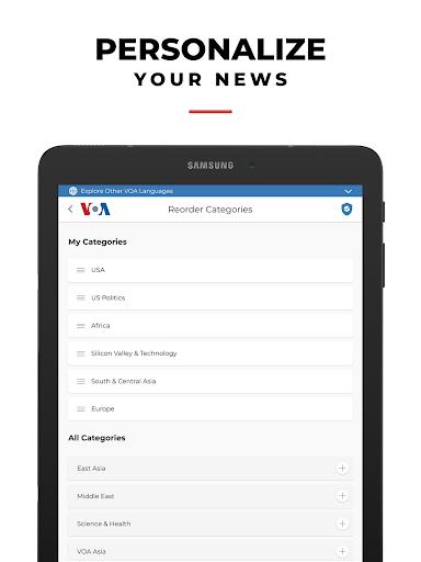 VOA News 4.1.5 Screenshots 17